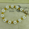 Yellow Daisy Bracelet