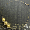 Golden Bling Wire Necklace