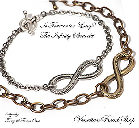 Infinity Bracelet Design, Tierra Case and Premium Chain