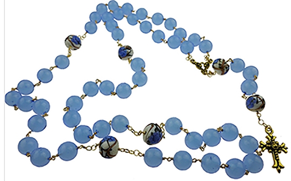 Make this Rosary with our Authentic Murano Glass Beads