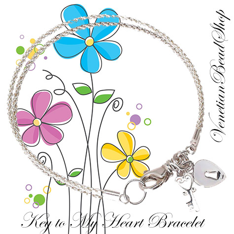 Key to My Heart Bracelet Design