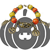 Carved to Perfection Halloween Bracelet