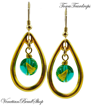 Tosca Teardrop Earrings Free Design