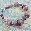 Pink n Purple Zanfirico Bracelet