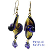 Twisted Ca'd'oro Cobalt Earrings