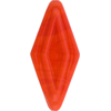 Venetian Bead Double Diamond 50mm Pervinca Orange Red