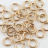 14/20 Gold Filled Locking Jump Ring 20 ga, 4mm, Per Piece
