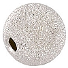 .925 Sterling Silver Sparkle Bead, Round, 10mm