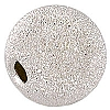 .925 Sterling Silver Sparkle Bead, Round, 12mm