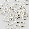 .925 Sterling Silver Locking Jump Ring, 18ga, 6mm