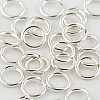 .925 Sterling Silver Locking Jump Ring, 8mm, 16 ga