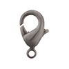 Gun Metal Grey Lobster Claw Clasp, 12mm