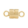 14/20 Gold Filled 10mm x 4mm Magnetic Clasp