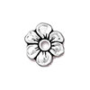 Apple Blossom, Rivetable Antiqued Find Silver Plated Pewter Tierra Cast