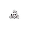 TierraCast Rivetable Celtic Charm, Antiqued Fine Silver Plated Pewter 11mm