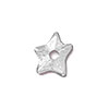 TierraCast Rivetable Star, 11mm Rhodium Plated Pewter