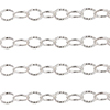 4.5mm .925 Sterling Silver Twisted Round Cable Chain