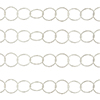 Premium Sterling Silver 10mm Diamond Cut Round Cable Chain, Per Foot
