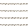 1.6mm Sterling Silver Baby Italian Rolo Chain, Per Foot
