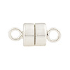 .925 Sterling Silver 10mm x 4mm Magnetic Clasp