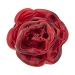 Lampwork Murano Glass Red Flower Bead 25mm