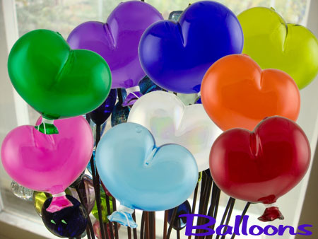 Mouthblown Balloons from Murano Italy