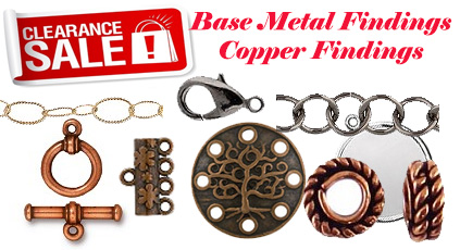 Clearance on Basemetal and Copper Findings
