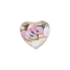 Alessandrite Bed of Roses Heart 16mm, Murano Glass Bead