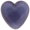 Purple Velvet Caramella Heart Cabochon 31mm, Venetian Glass Bead