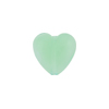 Chrysolite Caramella Heart 13mm, Murano Glass Bead
