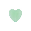 Chrysolite Caramella Heart 14mm, Venetian Glass Bead