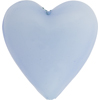 Blue Shale Caramella Heart 35mm, Venetian Glass Bead