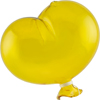 Yellow Boro Glass Balloon, Small