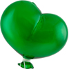 Emerald Boro Glass Balloon, Small
