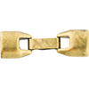 Regaliz  Snap Clasp Antique Brass 10x6mm