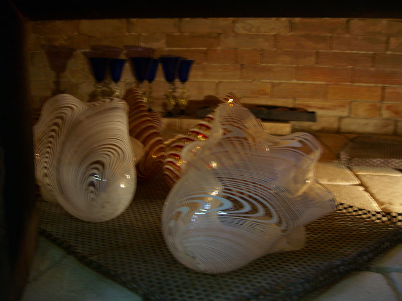 Glass Cooling in the Annealing Oven
