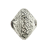 Black White Gold Foil Ca'd'oro Bicone 22x18mm Venetian Bead