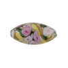 Murano Glass Bead Bed of Roses Oval 23mm Alessandrite