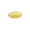 Clear 24kt Gold Foil Ovals 16x8mm Murano Glass Beads