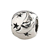 Buona Notte - Good Night Moon Sterling Silver Charm Bead
