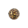 Crystal Black Avventurina Round 14mm, Murano Glass Bead