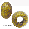 Vola Ca'd'oro Rondelle 15x10mm 6mm Hole, Murano Glass Bead