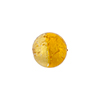 Murano Glass Bicolor Rounds 12mm Gold Foi, Gold & Topaz