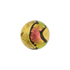 Murano Glass Bead, Carnevale Dichroic Round 14mm Exterior Gold and Salmon