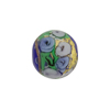 Murano Glass Bead Bed of Roses Round 14mm Cobalt
