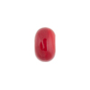 Red Rondelle 13x8mm 2mm Hole, Murano Glass Bead