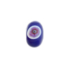 Cobalt Multi Millefiori Rondelle 13x8mm 2mm Hole, Murano Glass Bead