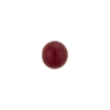 Cherry Red Caramella Round 8mm, Venetian Glass Bead