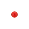 Lantern Red Colors Caramella Round 8mm, Venetian Glass Bead