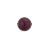 Wine Purple Caramella Round 10mm, Venetian Glass Bead
